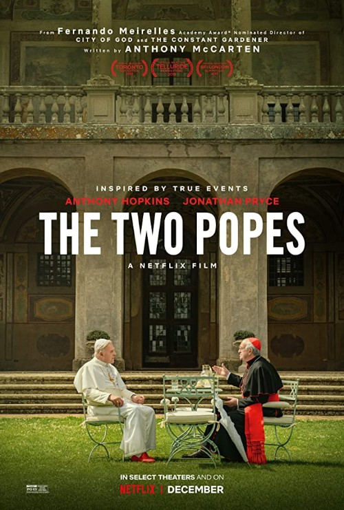 Poster the 2 popes 500x741
